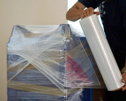 bioplastic news: compostable pallet wrapping