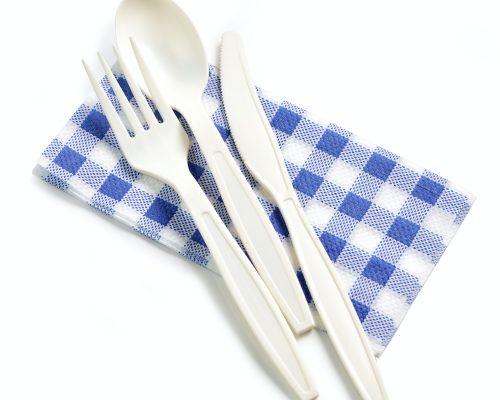 bioplastic news: compostable cutlery